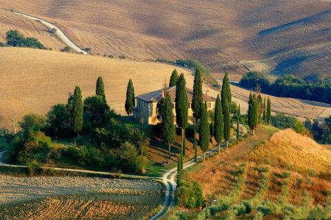 Fietsvakantie rondje Toscane