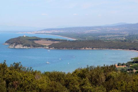 Fietsvakantie langs de Toscaanse kust