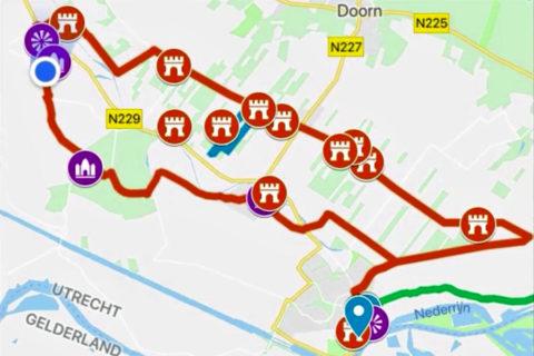 12 Kastelen fietsroute door de Kromme Rijnstreek