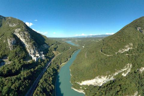 Fietsroute 'Via Rhôna' begint bij het spannendste deel van de Rhône