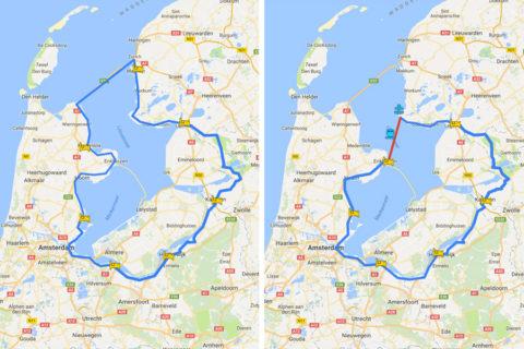 Twee manieren om een historisch rondje IJsselmeer te fietsen