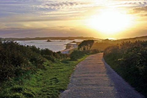 Je blijft wandelen op deze afgelegen Britse archipel