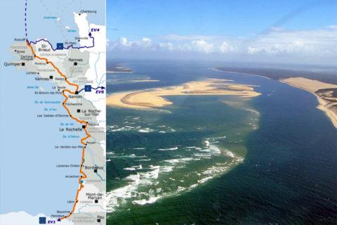 De Vélodyssée, 1200 km oceaan om langs te fietsen