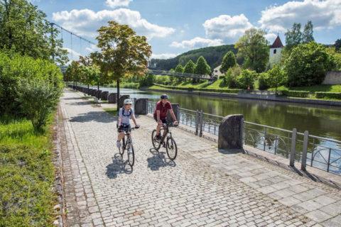 Nieuw: de 'Vijf Rivieren Fietsroute' door romantische Beierse dalen