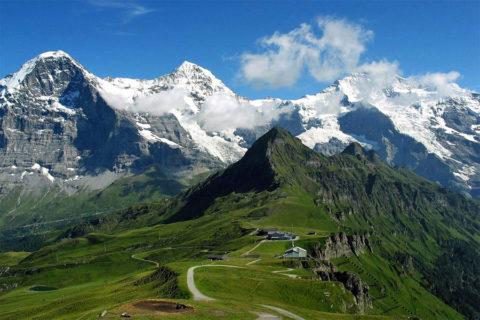 Huttentocht Zwitserland, Berner Oberland met Eiger-trail