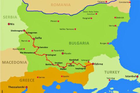 Op wandelexpeditie over de Sultans Trail in Bulgarije