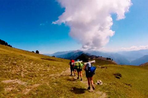 Dwars door de Pyreneeën over de oude vluchtroutes van de katharen