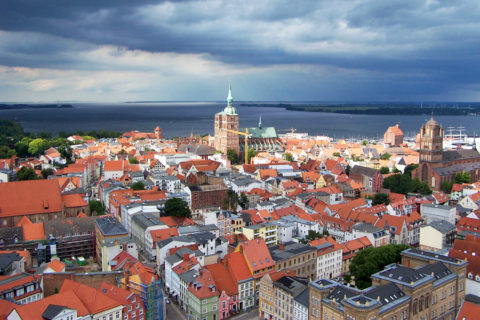 Werelderfgoed-Hanzestad Stralsund, de toegangspoort naar eiland Rügen