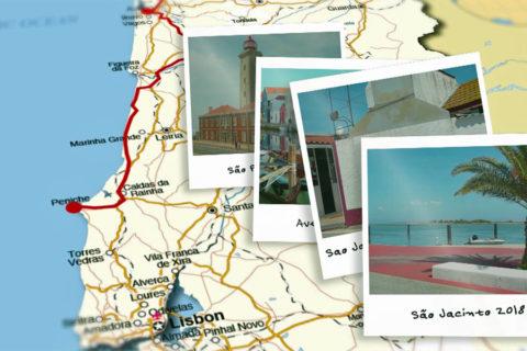 Fietsen langs de kust van Centro de Portugal
