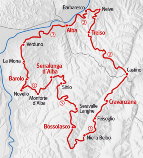 Wandelvakantie Piemonte met overnachtingen in 'agriturismi'