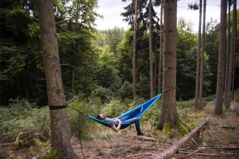 Wandelen en overnachten in een hangmat? Mag in Saarland