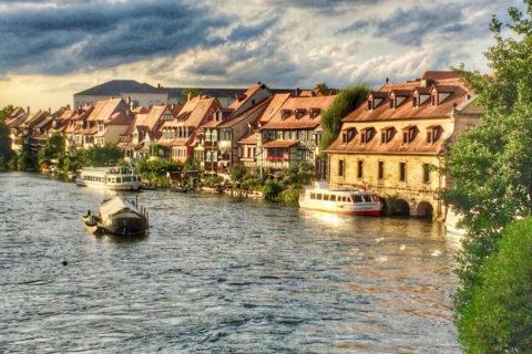 Wandelen rond het Venetië van Beieren