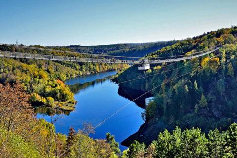 De langste hangbrug van Duitsland maakt de Harzer-Hexen-Stieg nog spannender