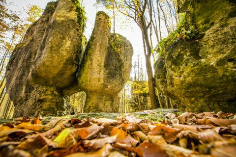 Avontuurlijk wandelen in de Beierse Jura, in een decor van rotsen en grotten