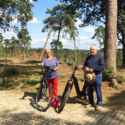 Met de nieuwste FLYER e-bikes over de Veluwe