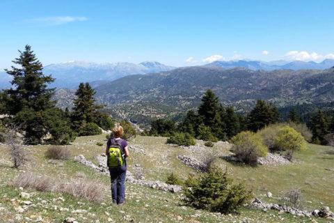 Griekse 'Menalon Trail' langs de historische plekken van Peloponnesos