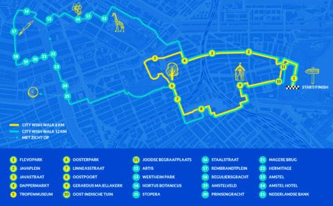 25 nov: Eerste City Wish Walk in Amsterdam