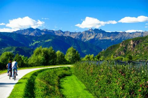 Busreis-Fietsvakantie van Tirol naar Venetië