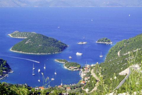 Fiets-vaarvakantie langs de eilanden van Zuid-Dalmatië