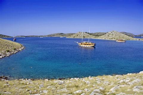 Fiets-vaarvakantie door de natuurparken van Dalmatië Kroatië