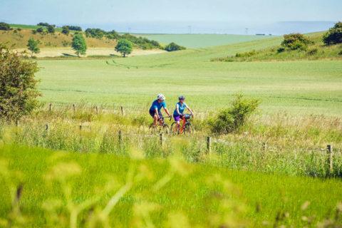 Een relaxte fietsroute door het lieflijke Engelse 'Yorkshire Wolds'