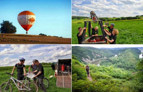 Ballon-trekking: Heen waar de wind je brengt, terug waar de GPS je de weg wijst