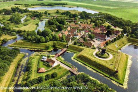 16 febr: Emsland Wandeltocht vanuit Bourtange
