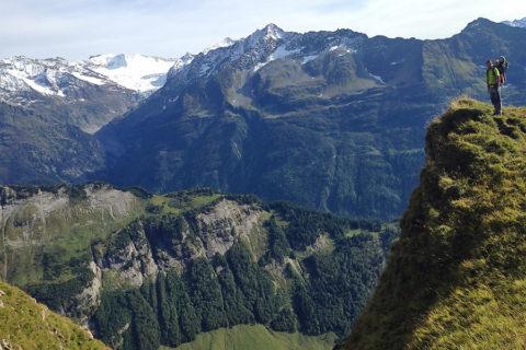 Spectaculaire 'Vier-meren-wandelroute' Engelberg, hartje Zwitserland