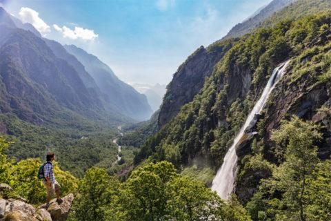 Trekkings en trails op zijn Italiaans in de Zwitserse Alpen van Ticino
