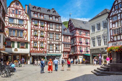 Bernkastel-Kues, ideale uitvalsbasis voor je wandelvakantie in de Moezel