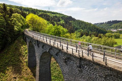 Vier vlakke fietsroutes door de Eifel
