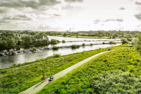 De RuhrtalRadweg: viersterren fietsroute slingerend door natuur en cultuur