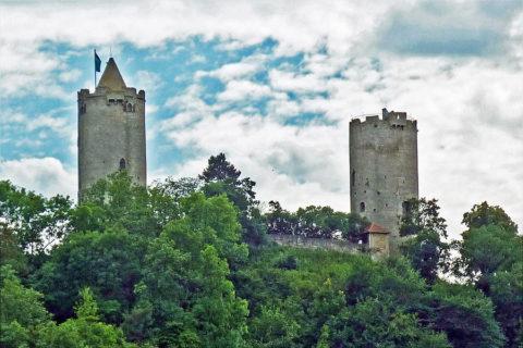 Nergens vind je meer kastelen, burchten en ruïnes dan langs de Saaleradweg