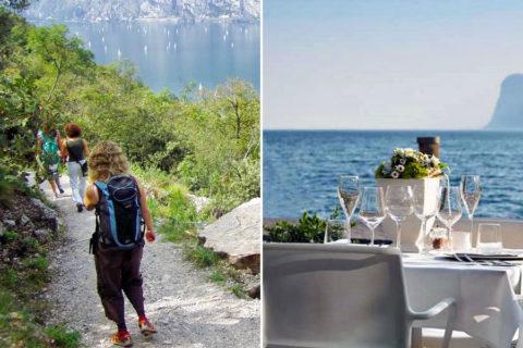 Wandelen en lekker eten in Garda Trentino, in de voetsporen van Goethe