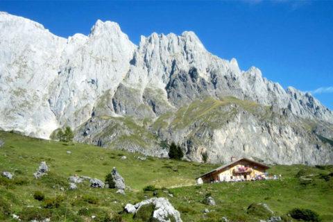 Wandelvakantie Königsweg van hotel naar hotel en één nacht in berghut