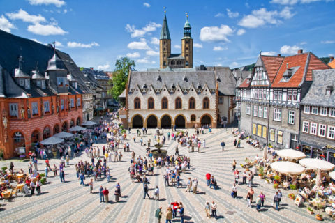 Historische stad Goslar, unieke uitvalsbasis voor wandelingen in de Harz