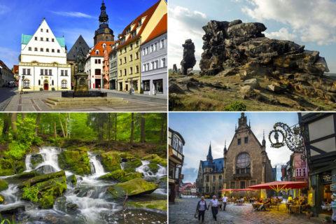 Bijzondere wandelroutes rond bijzondere steden in de Harz