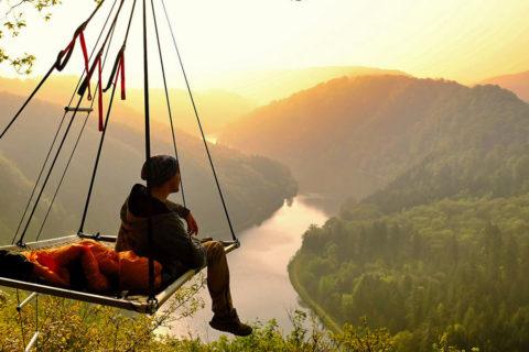 Sensationele overnachting boven de beroemdste rivierbocht van Duitsland