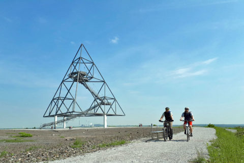 Een fietstocht door het grenzeloos openluchtmuseum van de Ruhr