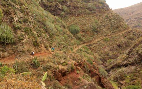 Naar Bermejo, de meest afgelegen wandeling op Tenerife