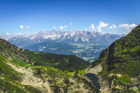 Huttentocht Oostenrijk rond de machtige Dachstein