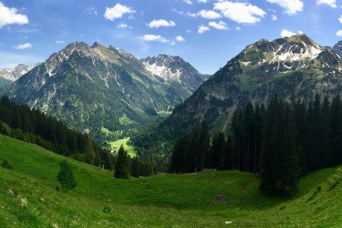 Groepswandelvakantie Kleinwalsertal, Vorarlberg