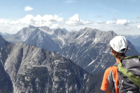 Semi-Huttentocht vanuit Garmisch over de Tirolerweg