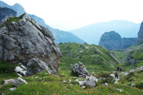 Huttentocht met gids door de Brenta Dolomieten