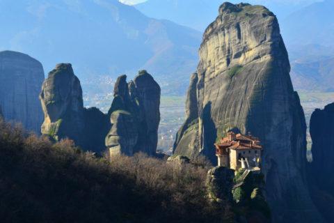 Een wandeling naar de verborgen kloosters in hartje Griekenland