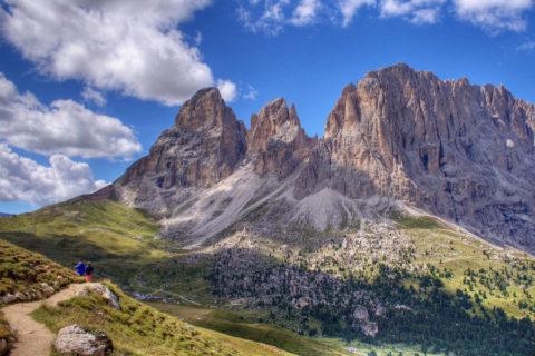 Huttentocht Dolomieten Panoramaroute Val di Fassa