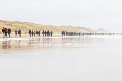 25 & 26 jan: Wandel Marathon Egmond
