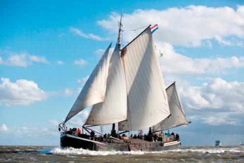 Wandel-zeilvakantie naar de Nederlandse Waddeneilanden