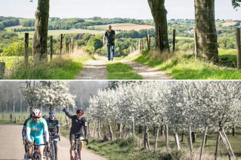 De 436 bijzondere fiets- en wandelroutes van Zuid-Limburg