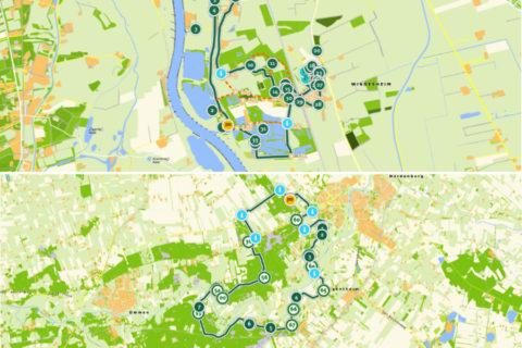 De mooiste fiets- en wandelroutes van Overijssel op de kaart